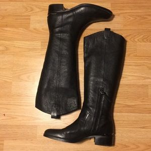 Black leather Louise et Cie Eiding Boots